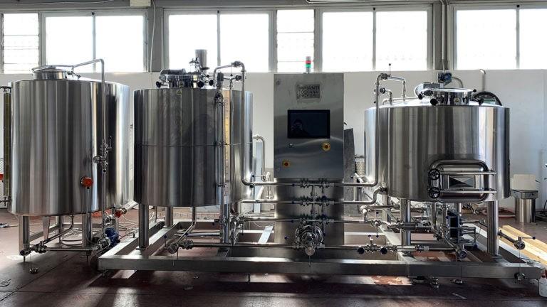 Impianto Birra Elettrico Toscana Inox - 01