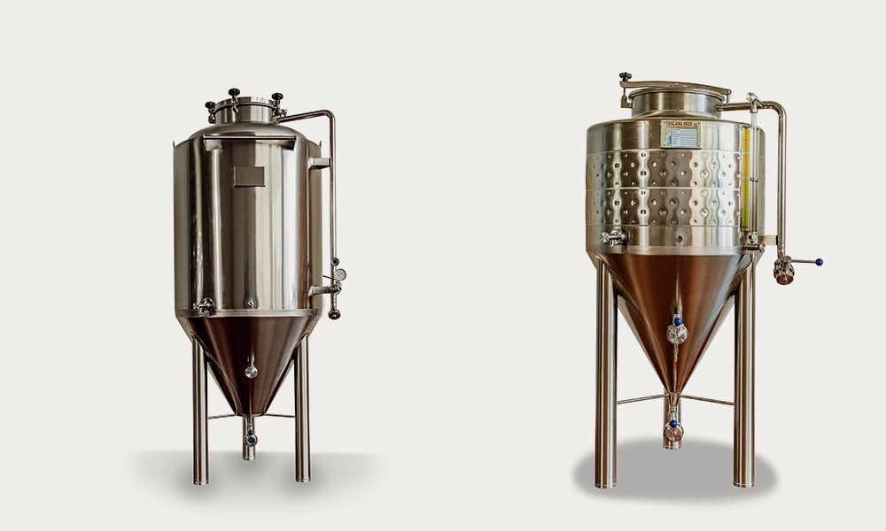 Fermentatori Birra Toscana Inox - 02