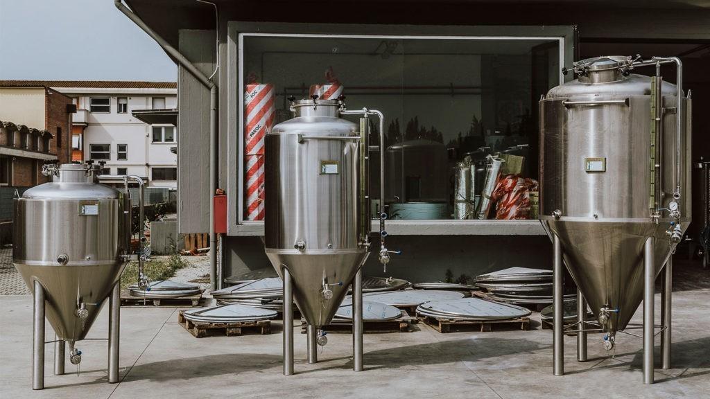 Fermentatori Birra Toscana Inox
