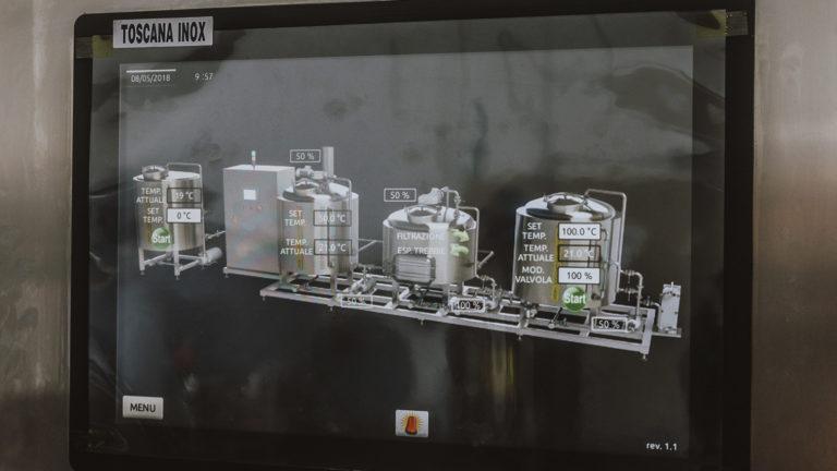 Impianto Produzione Birra a Fiamma Toscana Inox - 02