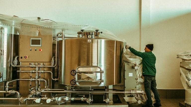 Impianto Produzione Birra a Vapore