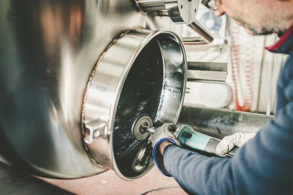 Contenitore acciaio chiuso per olio Toscana Inox