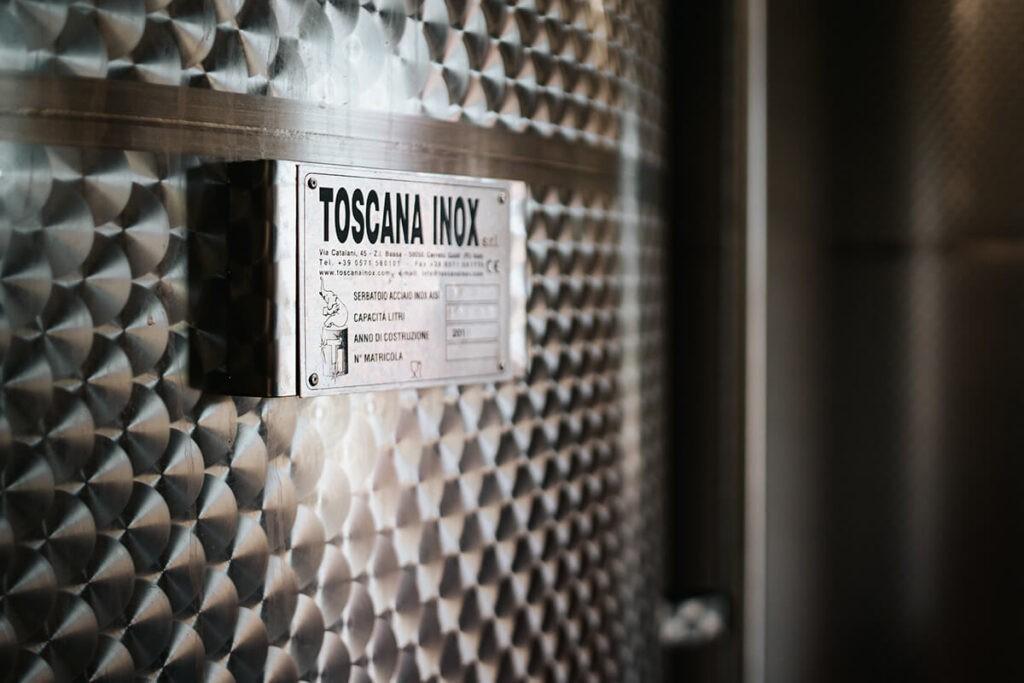 Contenitori vino galleggiante olio Toscana Inox