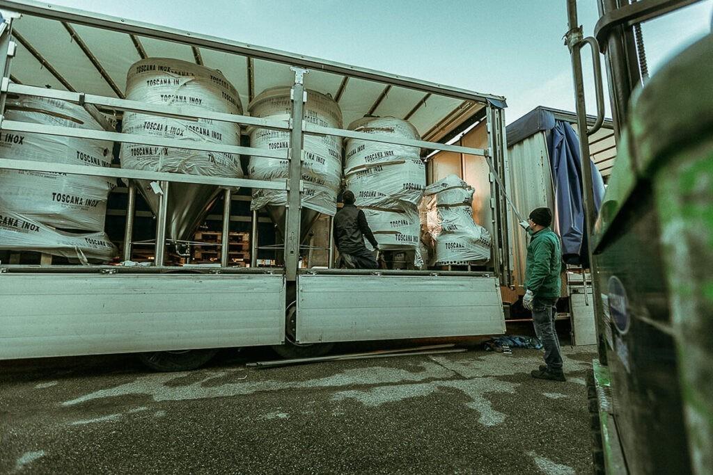 Contenitori Trasporto, Impilabili e Pallettizzabili Toscana Inox