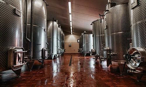 Serbatoi Vino - Contenitori chiusi vinificazione - Toscana Inox