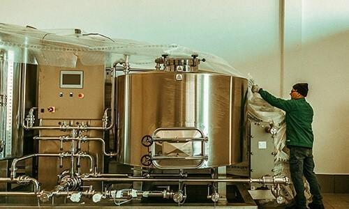 Serbatoi Birra - Impianto a Vapore - Toscana Inox